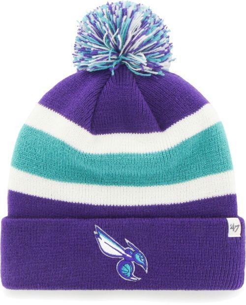 huge selection of f013d ab49c  47 Men s Charlotte Hornets Breakaway Knit Hat   DICK S Sporting Goods
