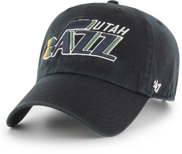 '47 Men's Utah Jazz Black Clean Up Adjustable Hat product image