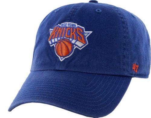 01508ffc9c5d1 47 Men s New York Knicks Royal Clean Up Adjustable Hat