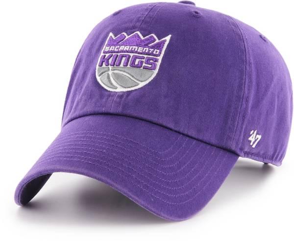 '47 Men's Sacramento Kings Purple Clean Up Adjustable Hat product image