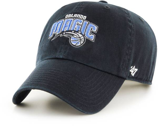 '47 Men's Orlando Magic Black Clean Up Adjustable Hat product image