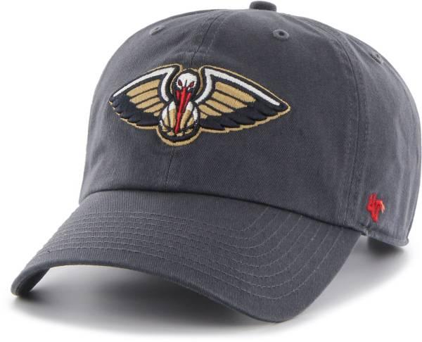'47 Men's New Orleans Pelicans Navy Clean Up Adjustable Hat product image