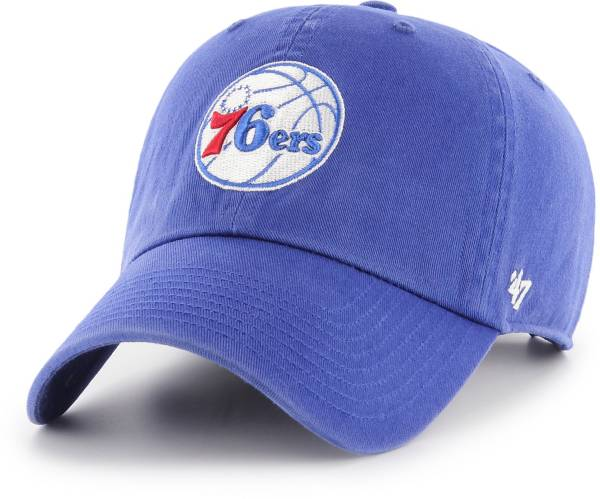'47 Men's Philadelphia 76ers Royal Clean Up Adjustable Hat product image