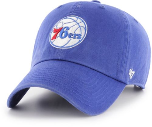 707a0e5d5f4 ... Philadelphia 76ers Royal Clean Up Adjustable Hat. noImageFound. Previous