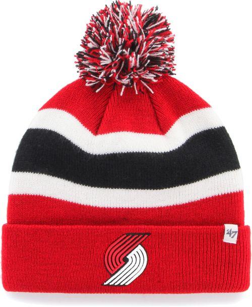 5ad09a36f60 ... purchase 47 mens portland trail blazers breakaway knit hat 61754 0e802