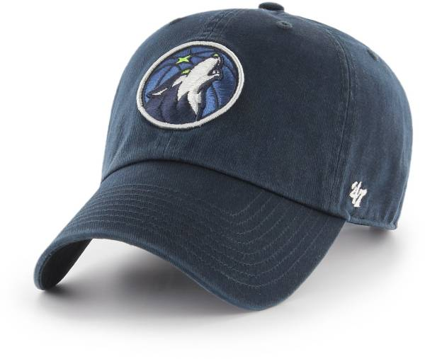 '47 Men's Minnesota Timberwolves Navy Clean Up Adjustable Hat product image