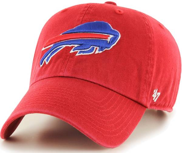 '47 Men's Buffalo Bills Clean Up Red Adjustable Hat product image
