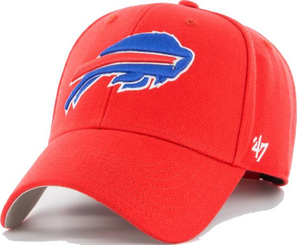 '47 Men's Buffalo Bills MVP Red Adjustable Hat product image