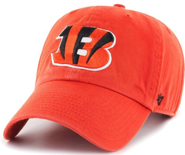 '47 Men's Cincinnati Bengals Clean Up Orange Adjustable Hat product image