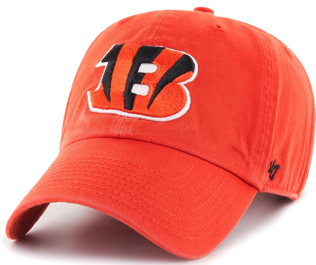 1fa38a2a73690c 47 Men's Cincinnati Bengals Clean Up Orange Adjustable Hat | DICK'S ...