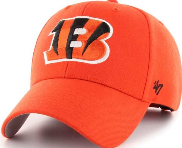 '47 Men's Cincinnati Bengals MVP Orange Adjustable Hat product image