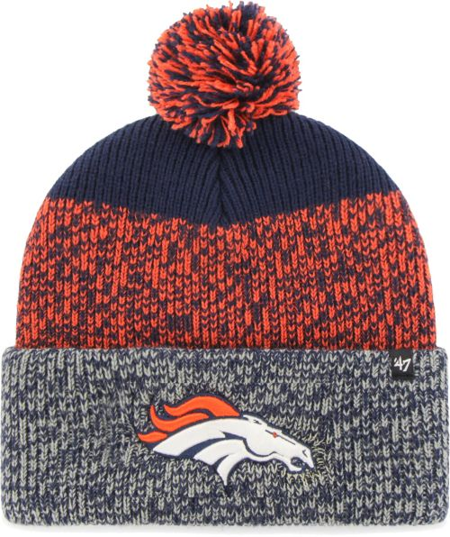 05a8eab1a80  47 Men s Denver Broncos Static Cuffed Knit