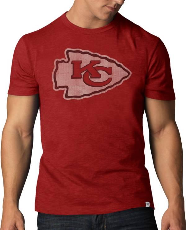 '47 Men's Kansas City Chiefs Scrum Logo Red T-Shirt product image
