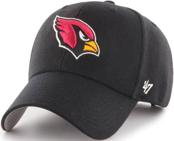 '47 Men's Arizona Cardinals MVP Black Adjustable Hat product image