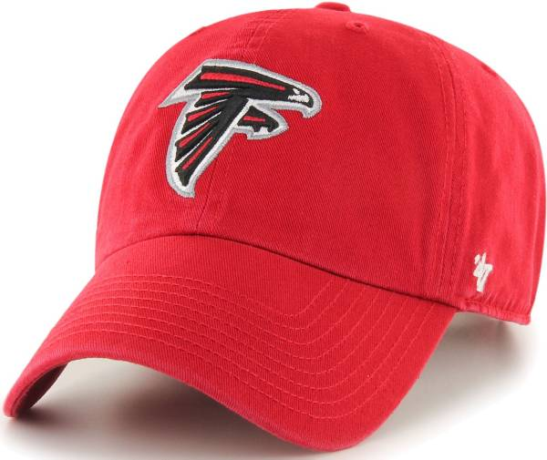 '47 Men's Atlanta Falcons Clean Up Red Adjustable Hat product image