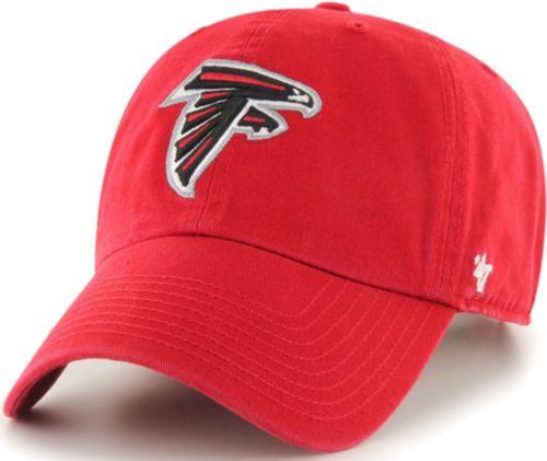 a764ebd25 '47 Men's Atlanta Falcons Clean Up Red Adjustable Hat. noImageFound.  Previous