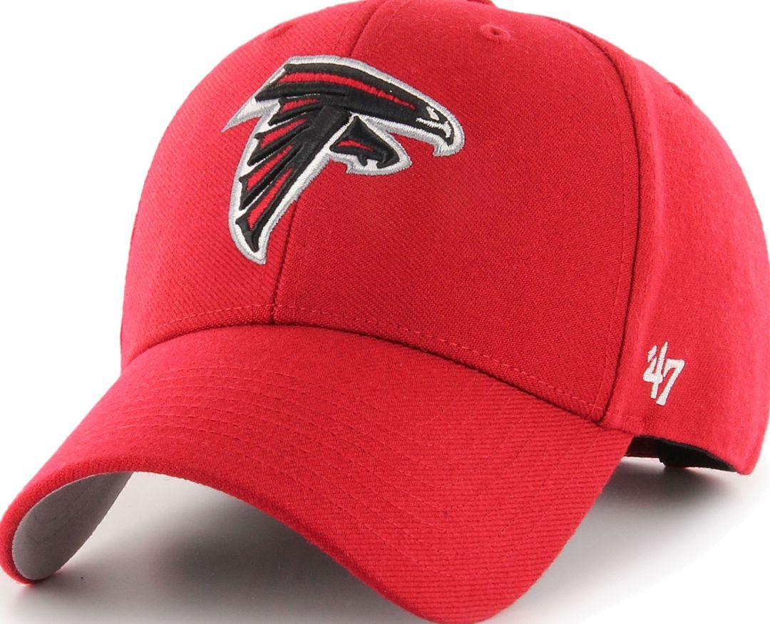 6e2805a8 '47 Men's Atlanta Falcons MVP Red Adjustable Hat