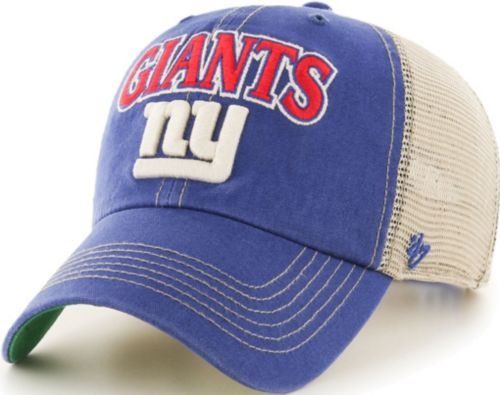 01fa70904 ... New York Giants Tuscaloosa Clean Up Royal Adjustable Hat. noImageFound.  Previous