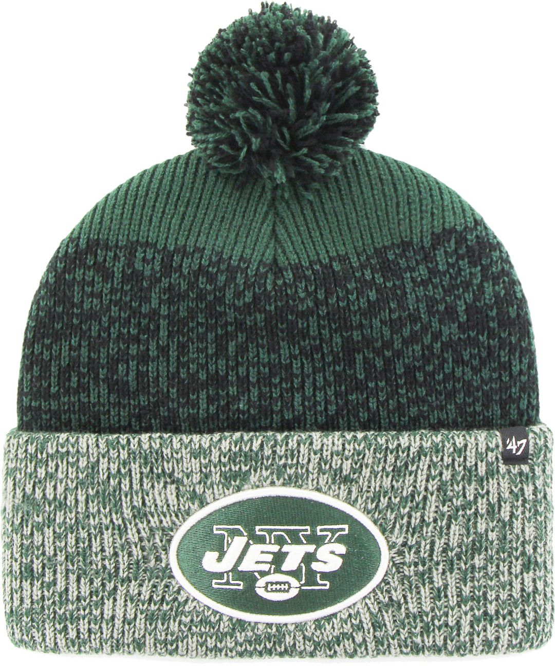 4cd76d07 '47 Men's New York Jets Static Cuffed Knit