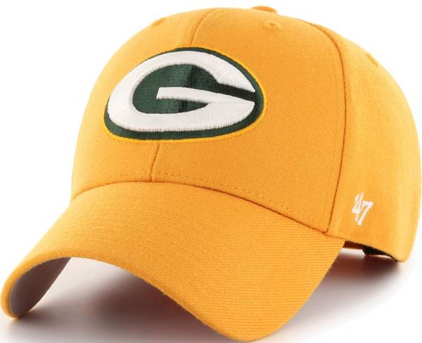 '47 Men's Green Bay Packers MVP Gold Adjustable Hat product image