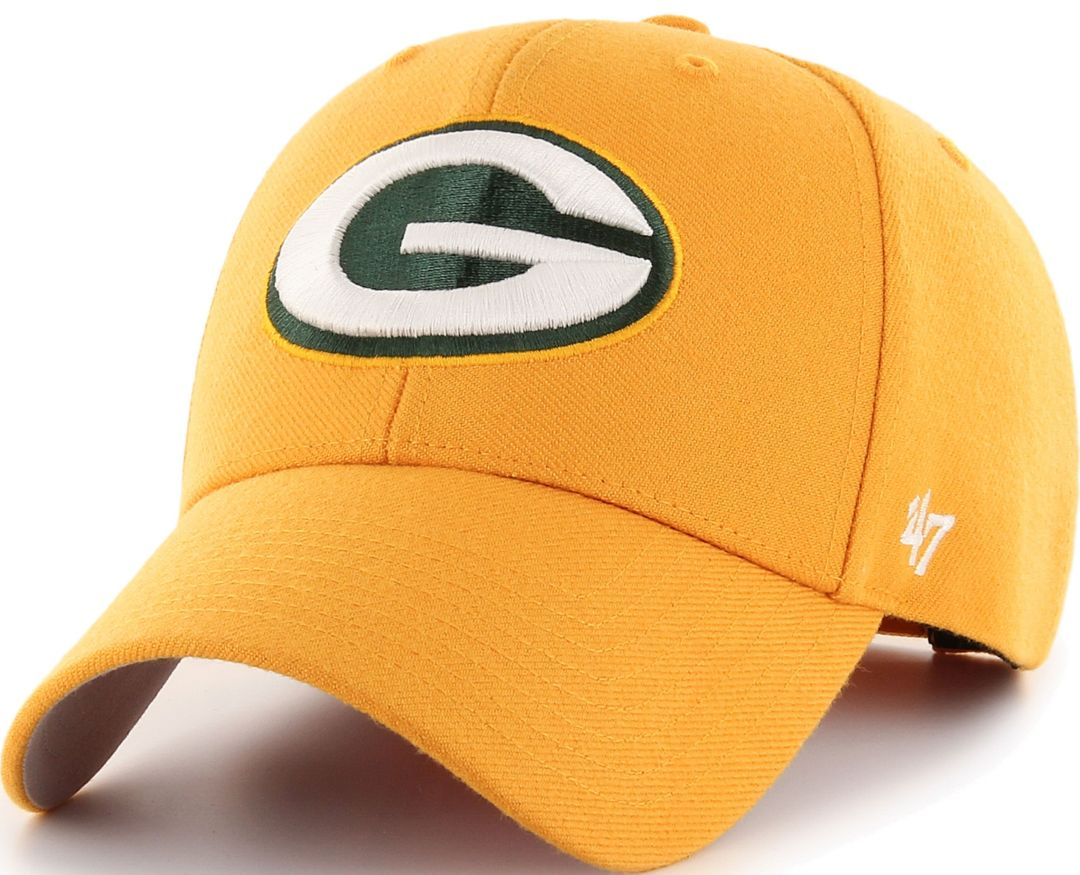 a8226577 '47 Men's Green Bay Packers MVP Gold Adjustable Hat