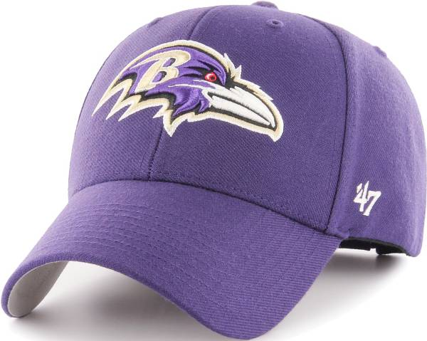 '47 Men's Baltimore Ravens MVP Purple Adjustable Hat product image