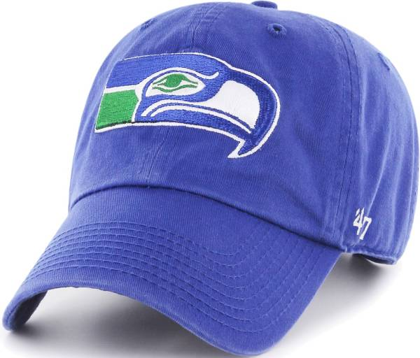 '47 Men's Seattle Seahawks Clean Up Throwback Royal Adjustable Hat product image