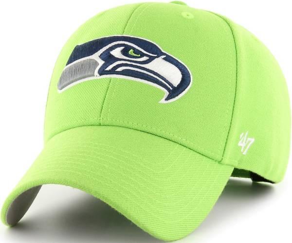 '47 Men's Seattle Seahawks MVP Green Adjustable Hat product image
