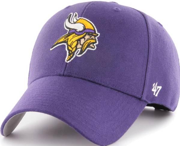 '47 Men's Minnesota Vikings MVP Purple Adjustable Hat product image