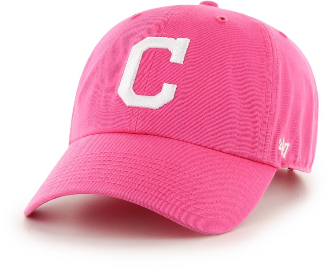 size 40 a4203 3a4e0 '47 Women's Cleveland Indians Clean Up Pink Adjustable Hat