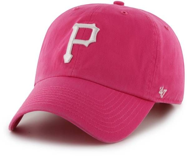 '47 Women's Pittsburgh Pirates Clean Up Pink Adjustable Hat product image