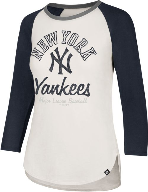 7c0fcb532 ... New York Yankees Splitter Raglan Three-Quarter Sleeve Shirt.  noImageFound. Previous
