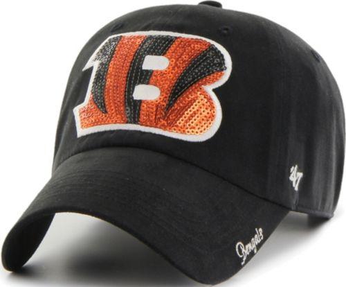 cc944c57 '47 Women's Cincinnati Bengals Sparkle Clean Up Black Adjustable Hat.  noImageFound. Previous