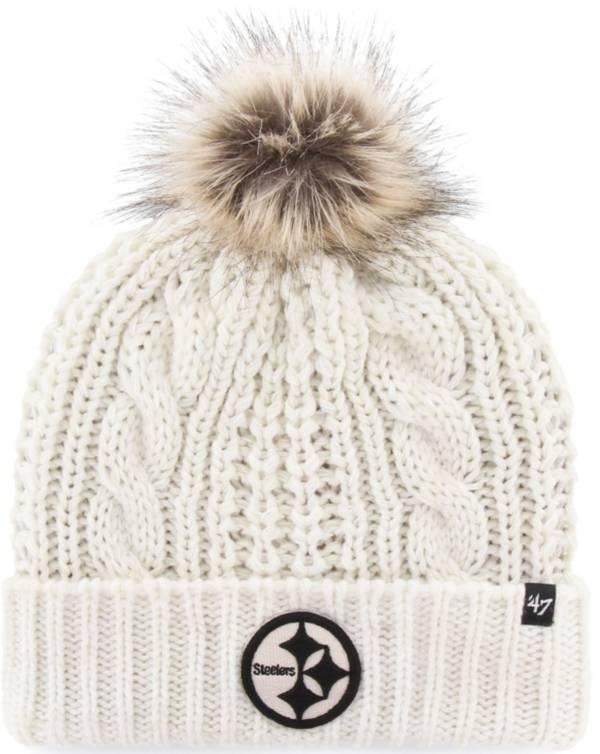 47 Women's Pittsburgh Steelers Meeko Cuffed Knit Hat product image