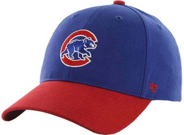 '47 Youth Chicago Cubs Short Stack MVP Royal/Red Adjustable Hat product image
