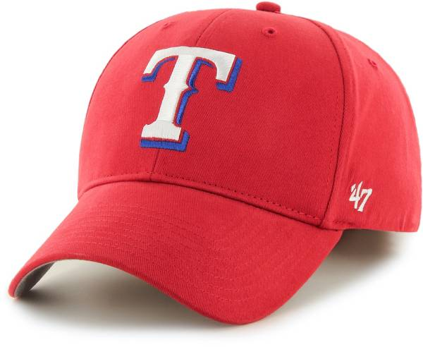 '47 Youth Texas Rangers Basic Red Adjustable Hat product image