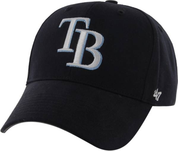 '47 Youth Tampa Bay Rays Basic Navy Adjustable Hat product image