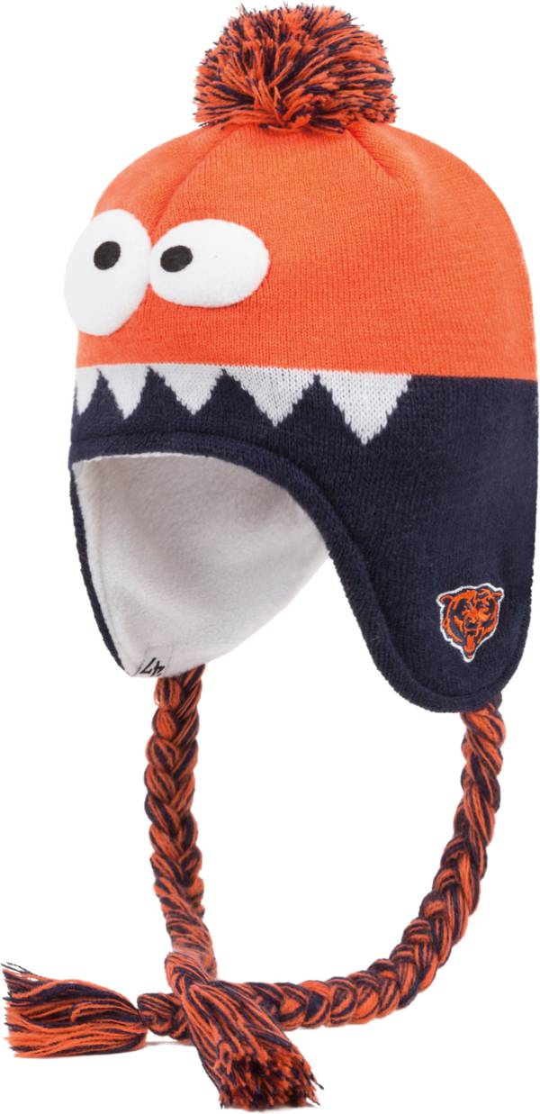 '47 Youth Chicago Bears Hammerhead Orange Knit Trapper product image