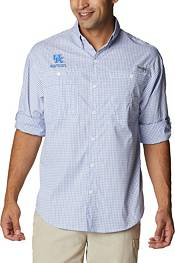 Columbia Men's Kentucky Wildcats Blue Super Tamiami Long Sleeve Shirt product image