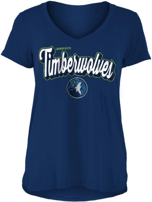 New Era Women's Minnesota Timberwolves V-Neck T-Shirt product image