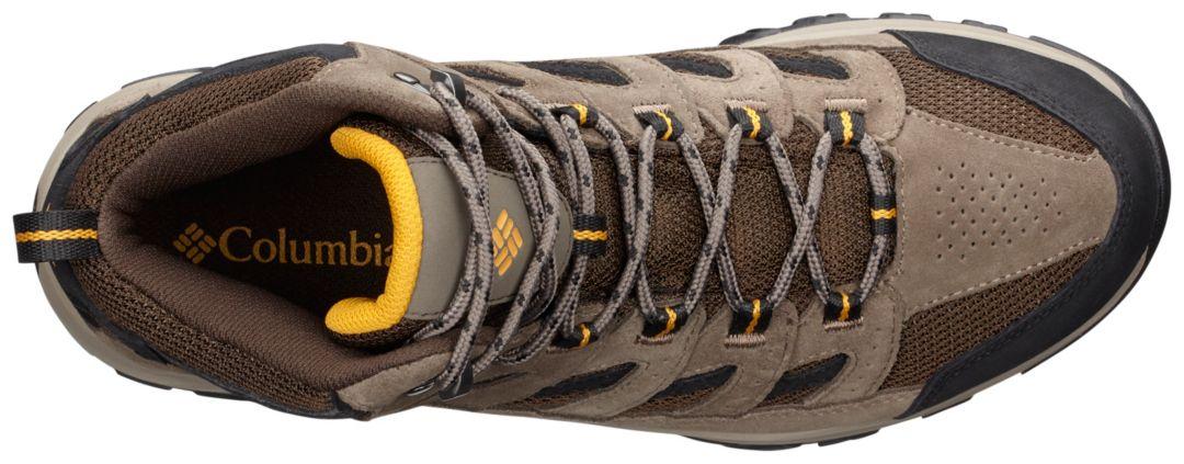 746beaf180a Columbia Men's Crestwood Mid Waterproof Hiking Boots