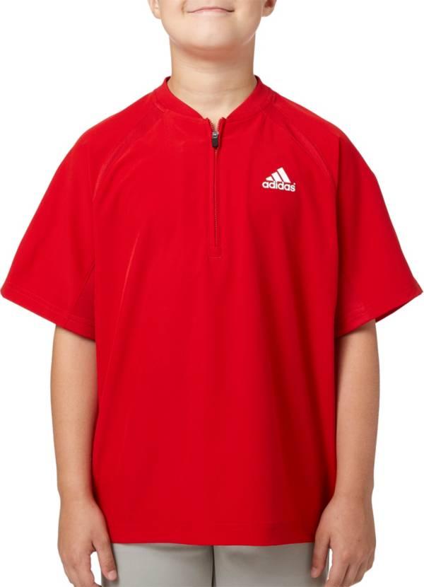 adidas Boys' Triple Stripe Baseball Jacket product image