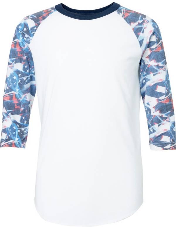 adidas Boys' America ¾ Sleeve Shirt product image