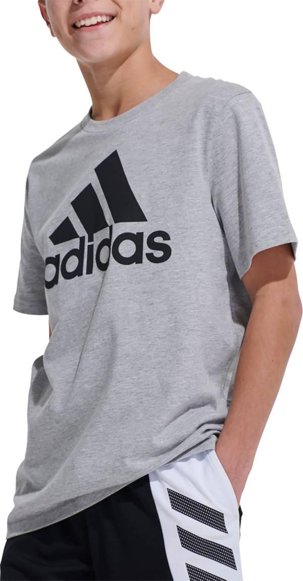 adidas Boys' Melange Performance T-Shirt product image