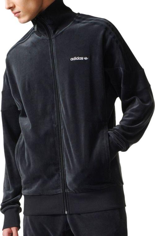 d0f0288240f adidas Originals Men's Velour Track Jacket. noImageFound. Previous
