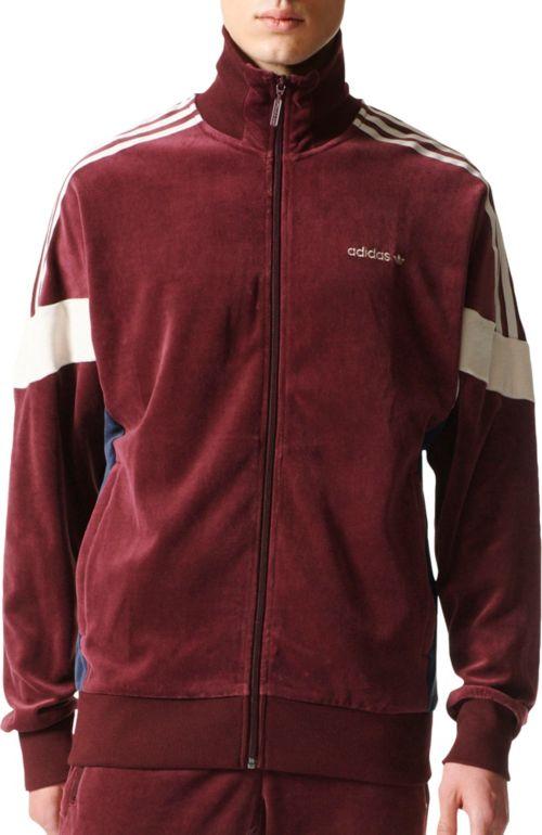 outlet store 35f15 92056 adidas Originals Men s Velour Track Jacket. noImageFound. Previous