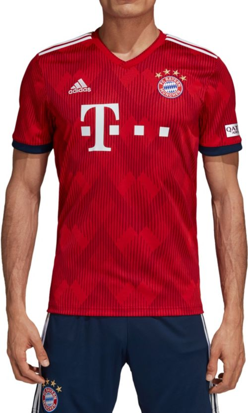 6bc11c074 adidas Men s Bayern Munich 2018 Stadium Home Replica Jersey. noImageFound.  Previous