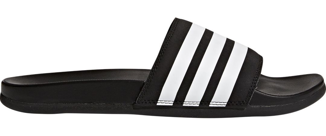 adidas Men's Adilette CloudFoam Plus Slides