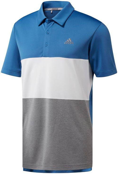 ccbedc7ca34 adidas Men s Advantage Wide Colorblock Golf Polo. noImageFound. Previous. 1.  2