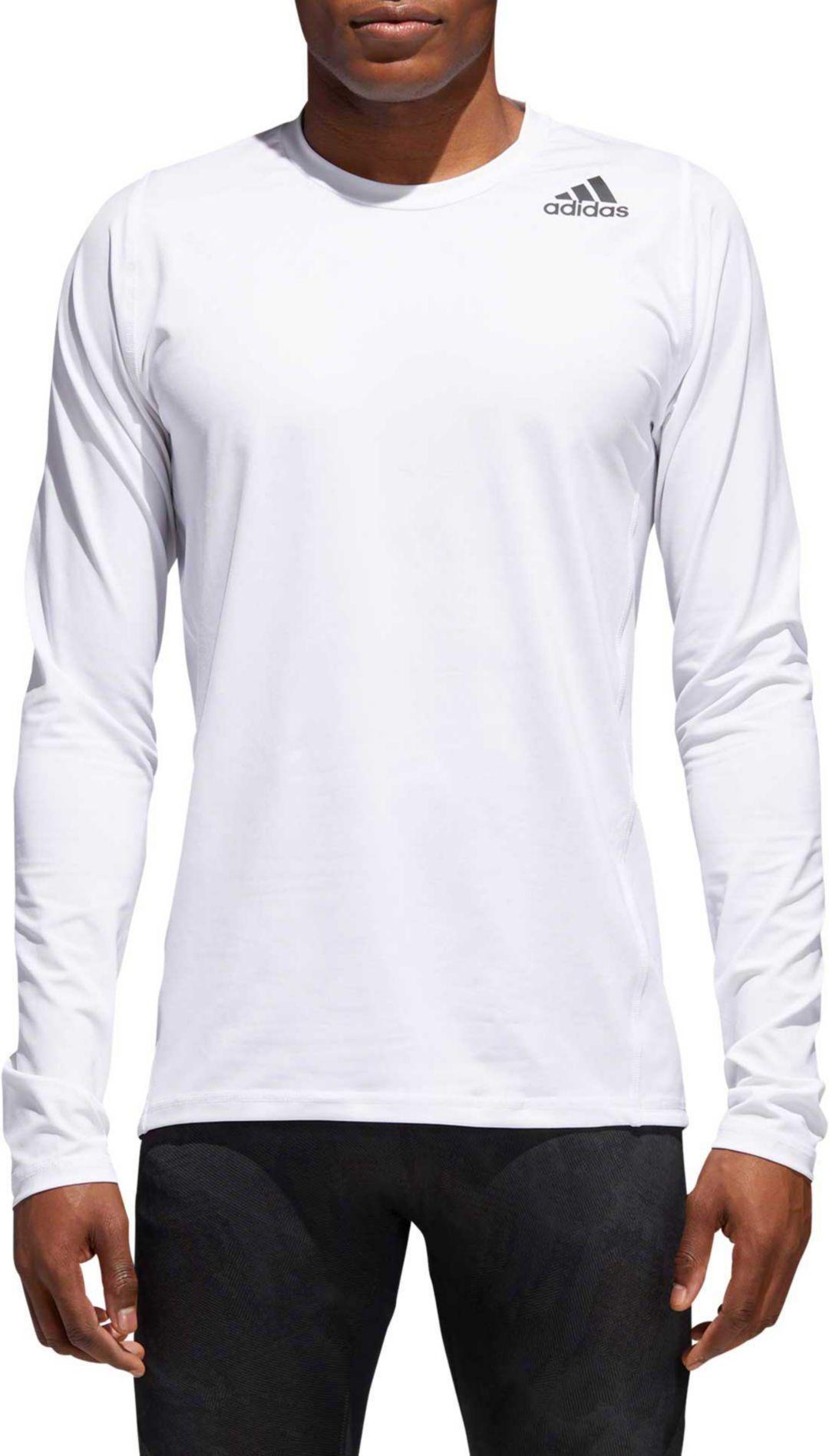 c36d0034634d4 adidas Men's Alphaskin Sport Fitted Long Sleeve Training T-Shirt